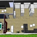 Projet en 3D Espace salle CE